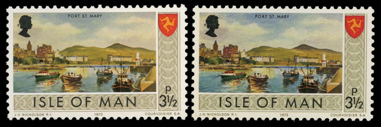 GB 1974  SG18a Mint Error of colour