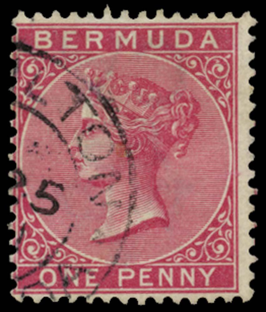 BERMUDA 1883-1904  SG24aw Used
