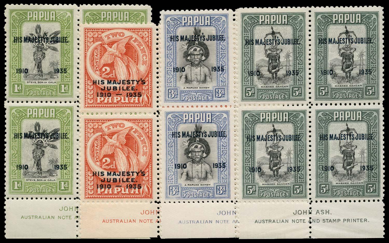PAPUA 1935  SG150/a/53a Mint