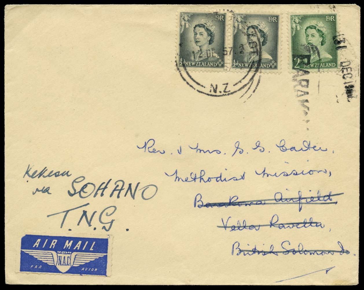 SOLOMON ISLANDS 1957 Cover