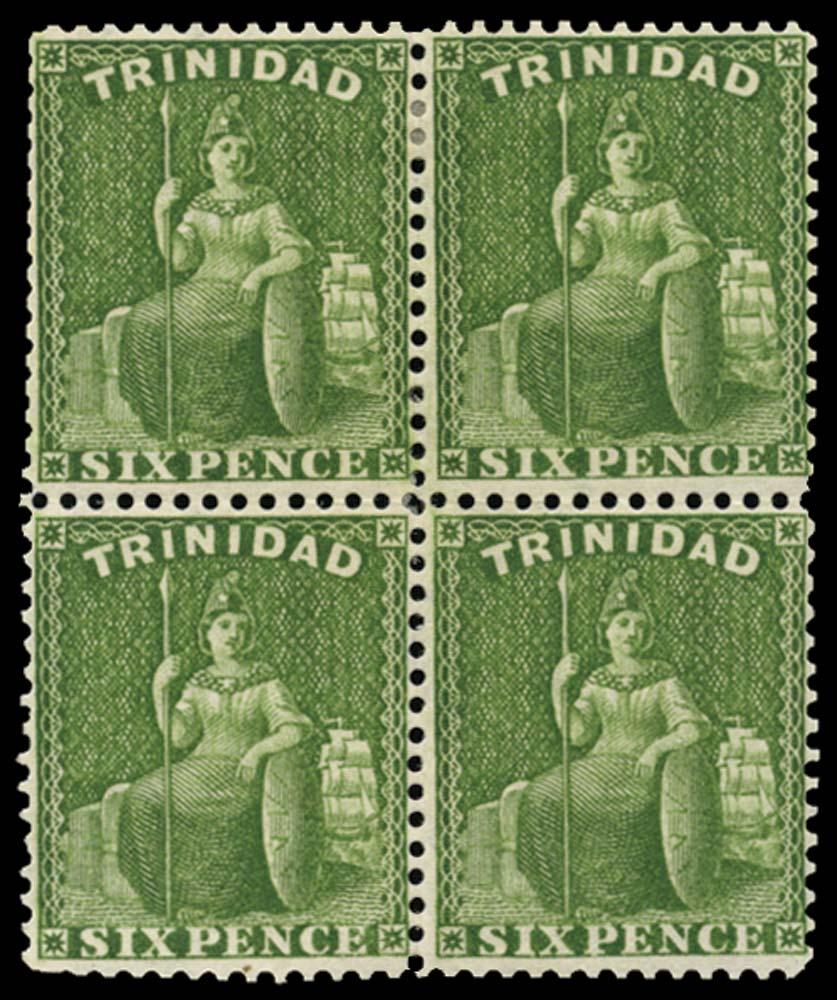 TRINIDAD 1863  SG77a Mint