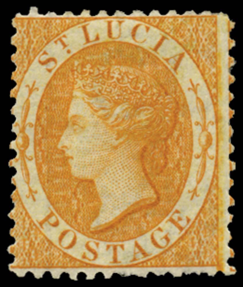 ST LUCIA 1864  SG14c Mint