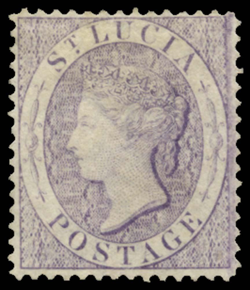 ST LUCIA 1864  SG17a Mint