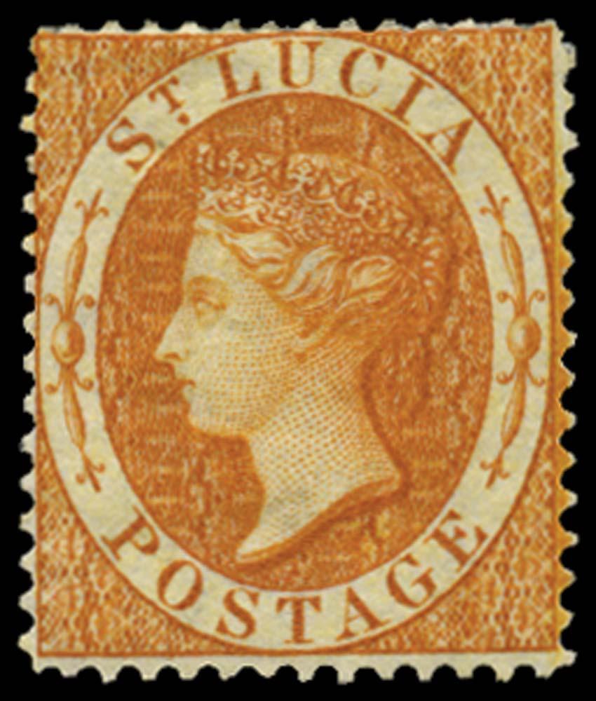 ST LUCIA 1864  SG18ax Mint