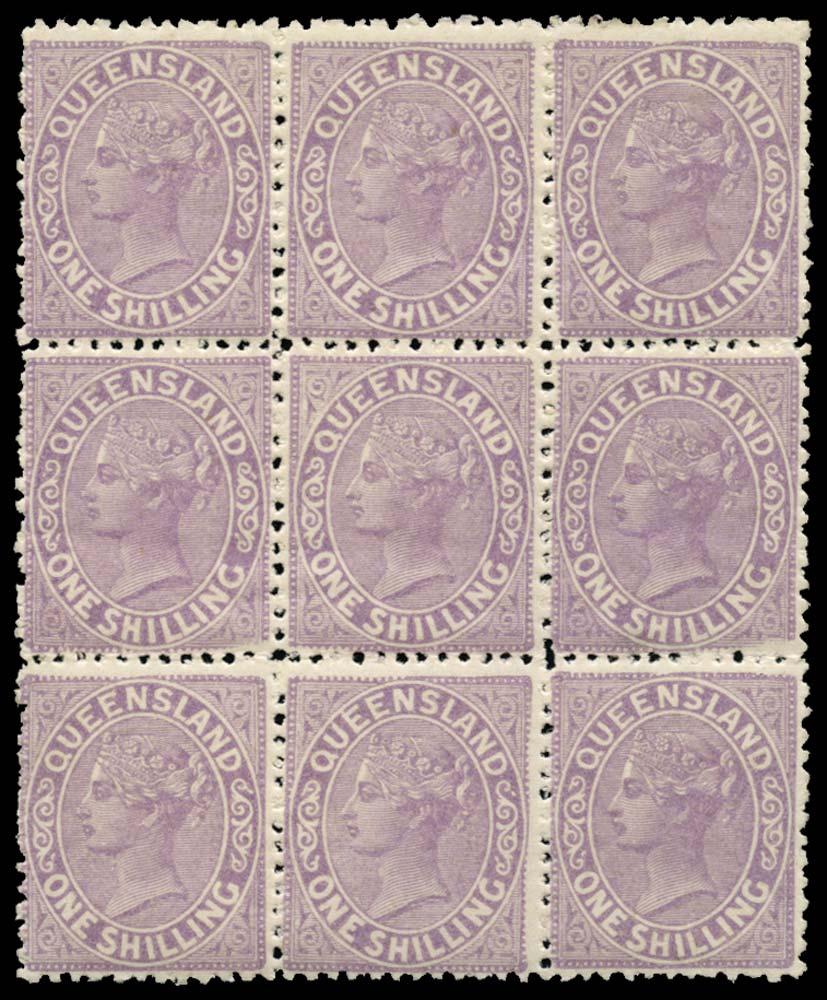 QUEENSLAND 1895  SG205 Mint