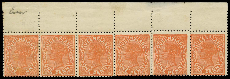 QUEENSLAND 1895  SG206/b Mint