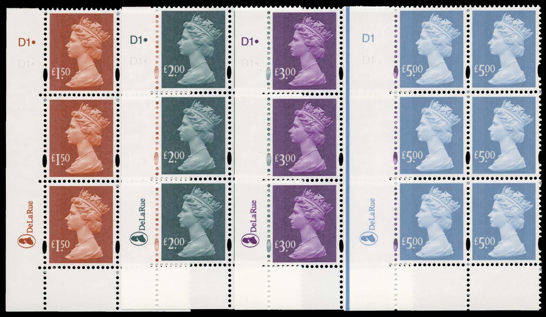 GB 2003  SGY1746/9 Mint