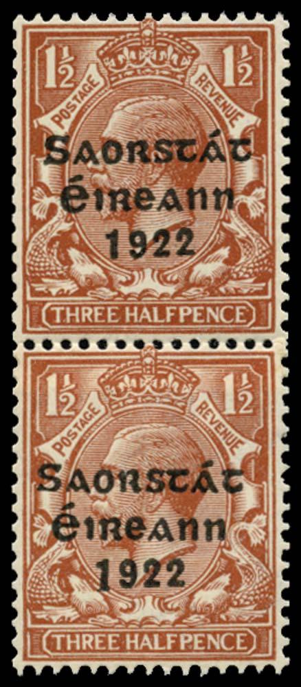 IRELAND 1922  SG69/a Mint