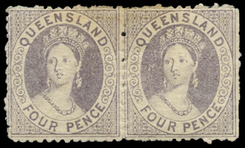 QUEENSLAND 1866  SG54 Mint