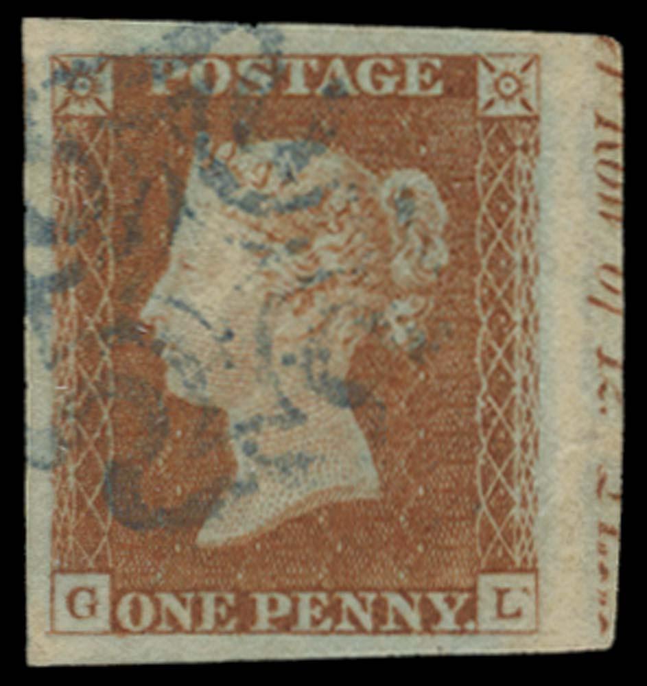 GB 1841  SG8l Pl.22 Used