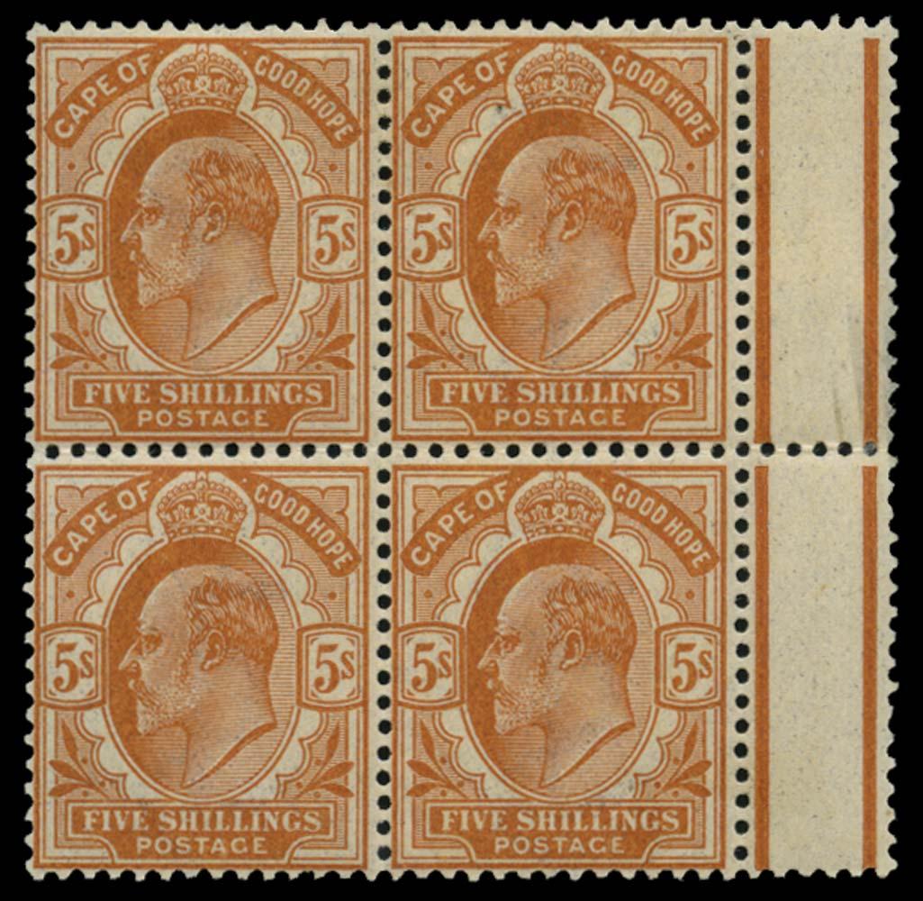CAPE OF GOOD HOPE 1902  SG78 Mint
