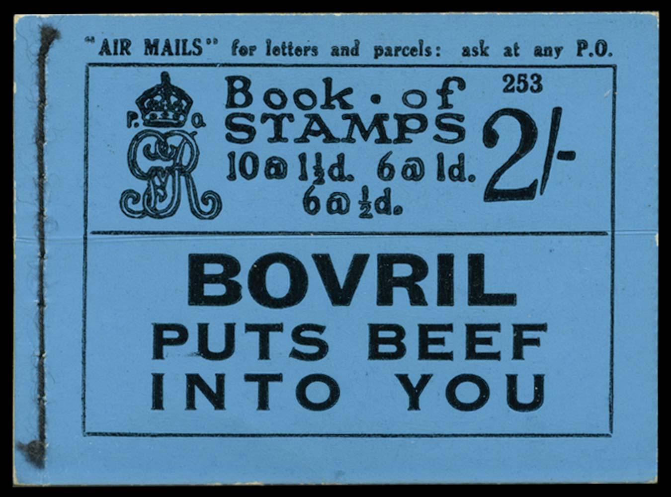 GB 1924  SGBB12 Booklet (Edition 253)