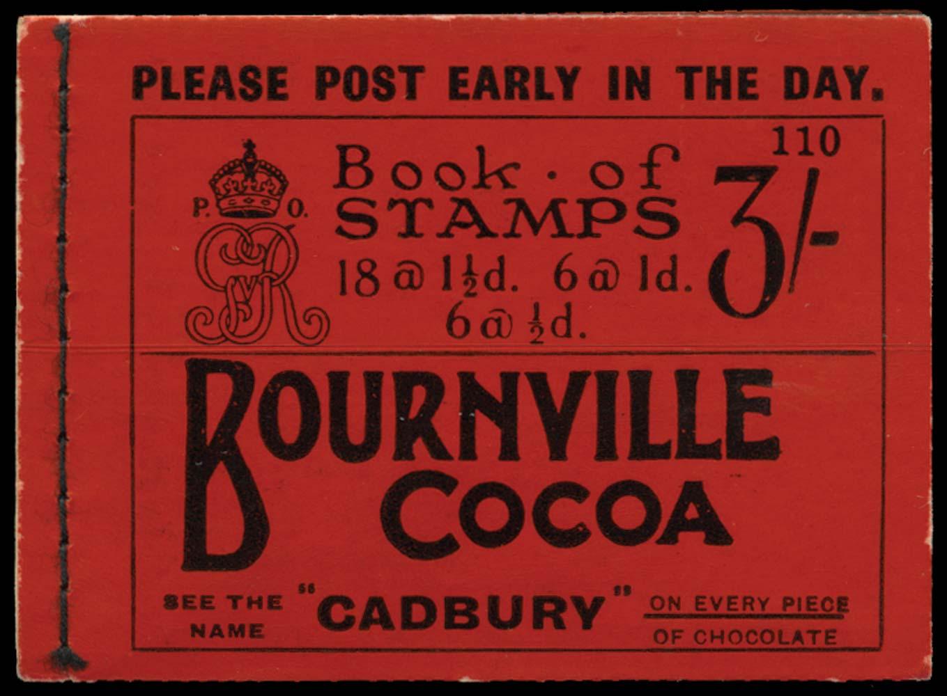 GB 1924  SGBB24 Booklet (Edition 110)