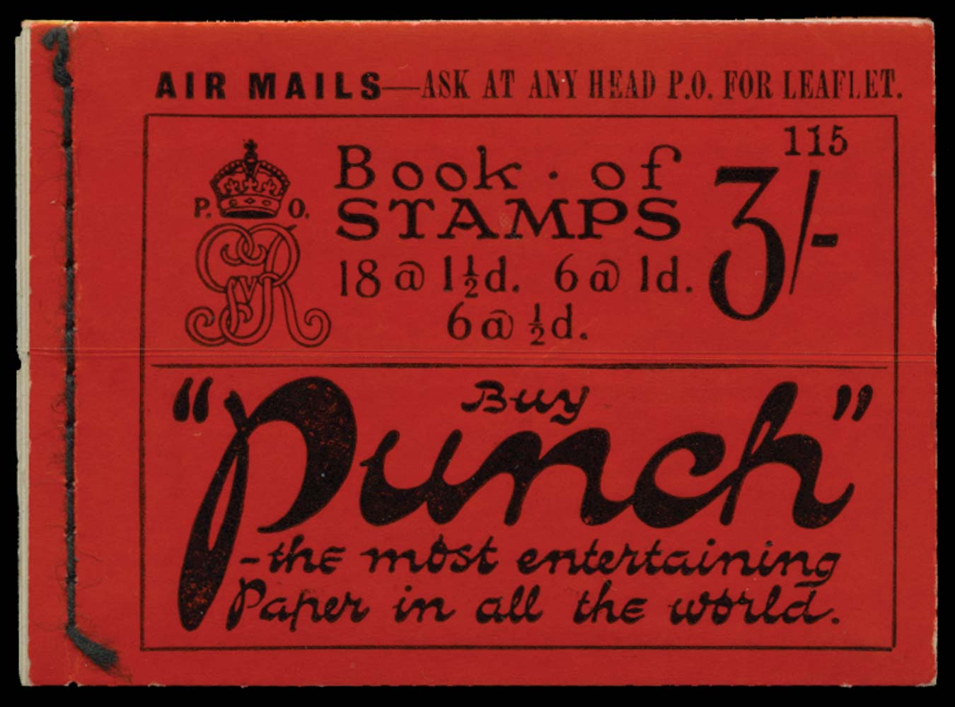 GB 1924  SGBB24 Booklet (Edition 115)