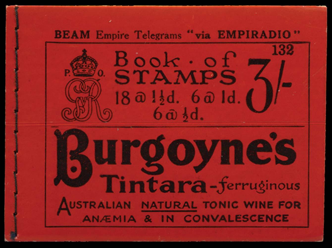 GB 1924  SGBB24 Booklet (Edition 132)