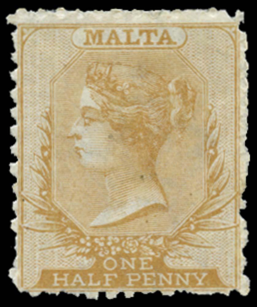 MALTA 1863  SG14 Mint