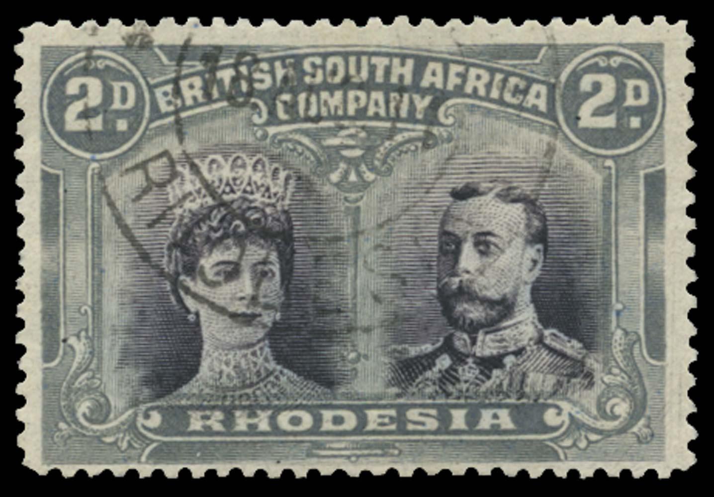 RHODESIA 1910  SG127 Used