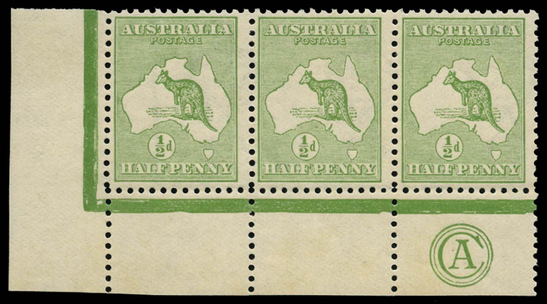 AUSTRALIA 1913  SG1 Mint