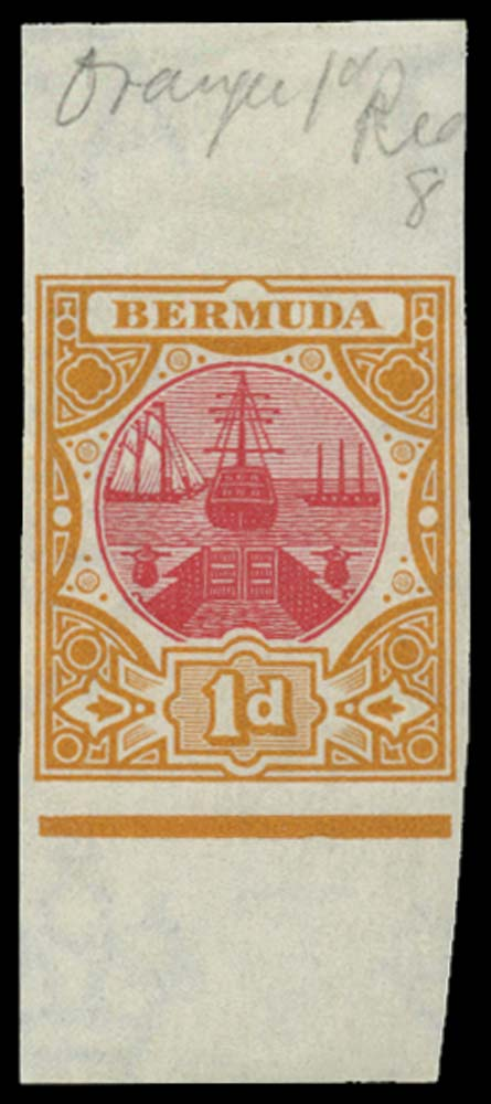 BERMUDA 1902  SG32 Proof