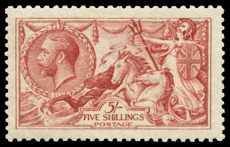 GB 1915  SG409var Mint