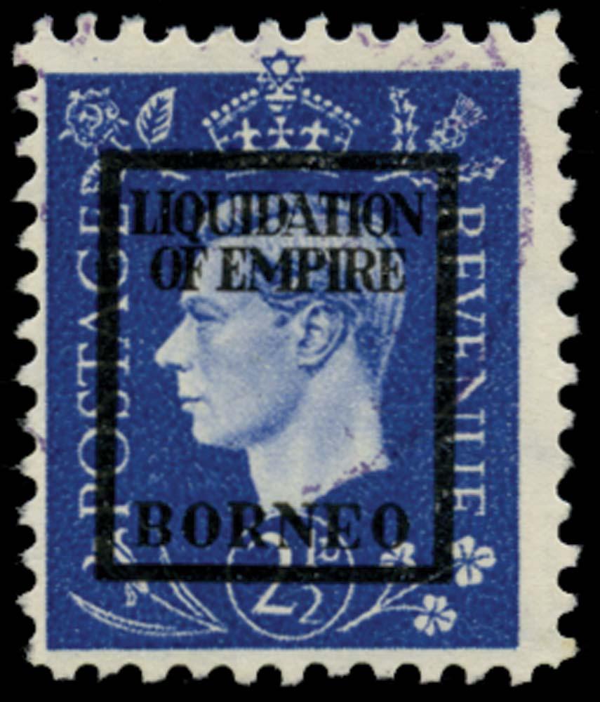 NORTH BORNEO 1944  SG. Forgery