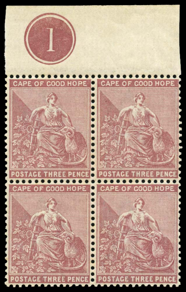 CAPE OF GOOD HOPE 1882  SG43 Mint