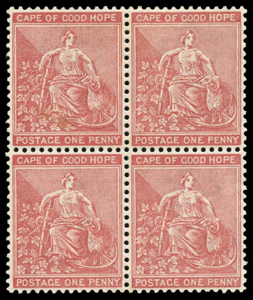 CAPE OF GOOD HOPE 1882  SG41a Mint