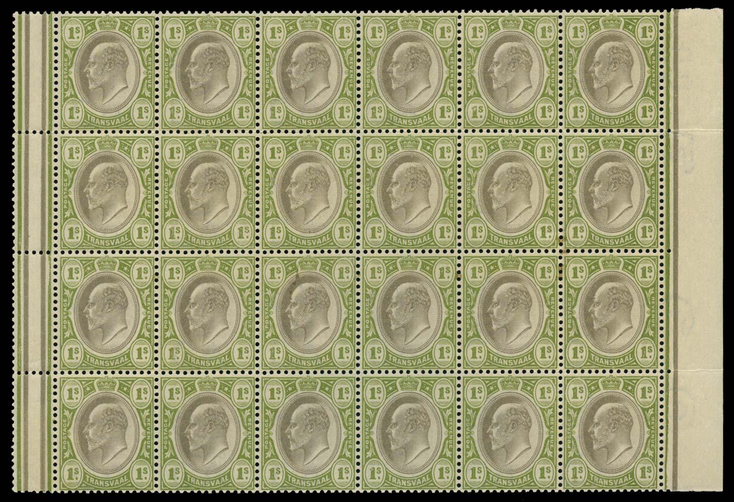 TRANSVAAL 1902  SG251 Mint