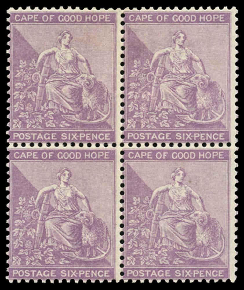 CAPE OF GOOD HOPE 1882  SG44 Mint