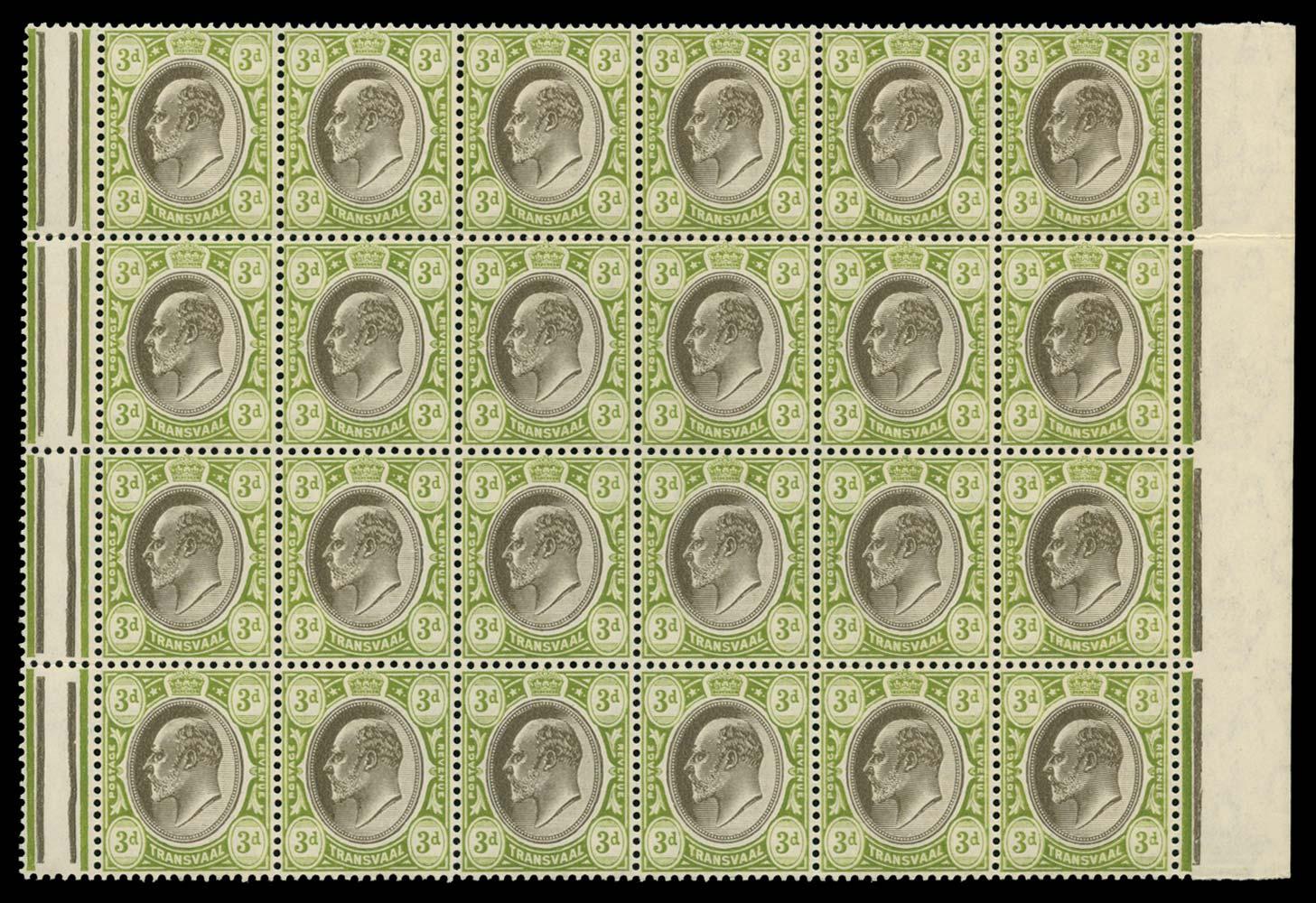 TRANSVAAL 1904-09  SG264 Mint
