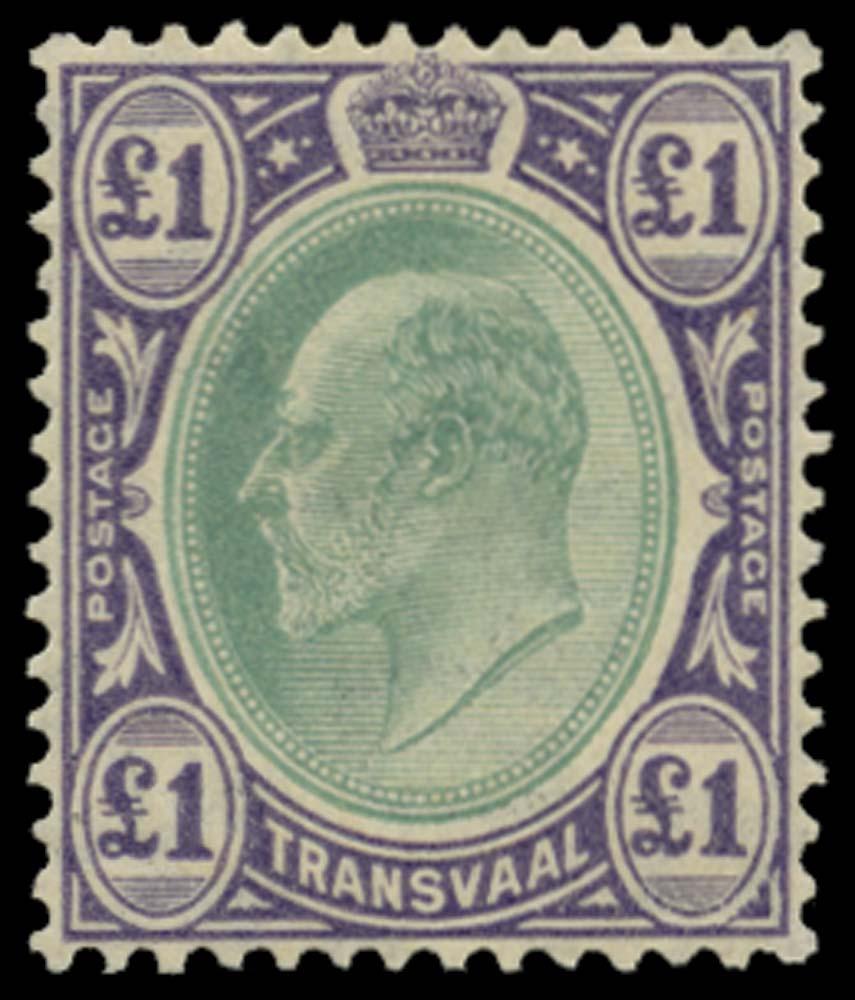 TRANSVAAL 1904-09  SG272 Mint