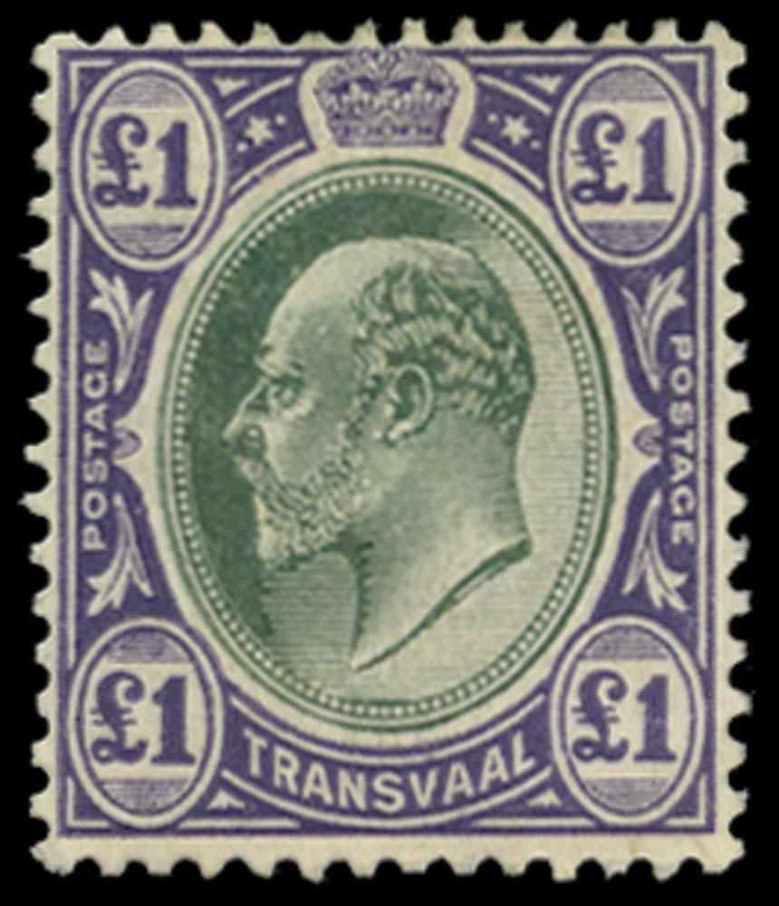 TRANSVAAL 1904-09  SG272a Mint