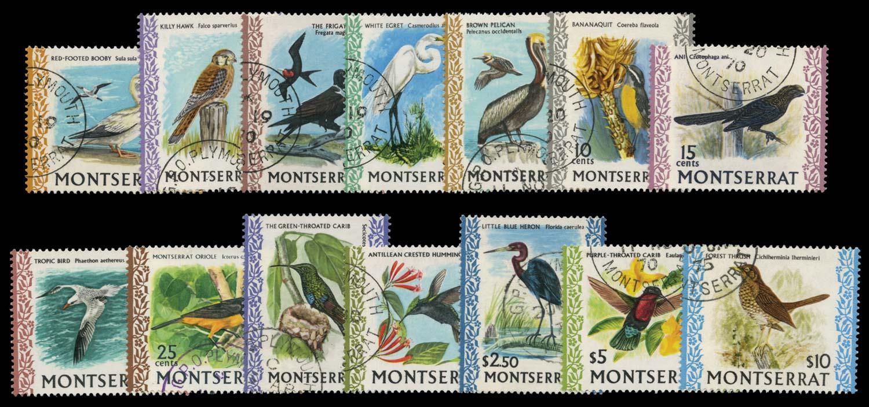 MONTSERRAT 1970  SG242/54c Used