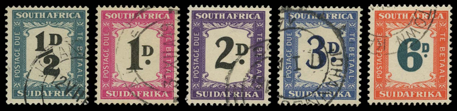 SOUTH AFRICA 1948  SGD34/8 Postage Due