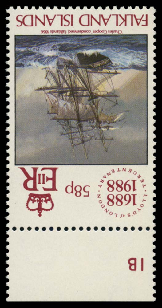 FALKLAND ISLANDS 1988  SG566w Mint