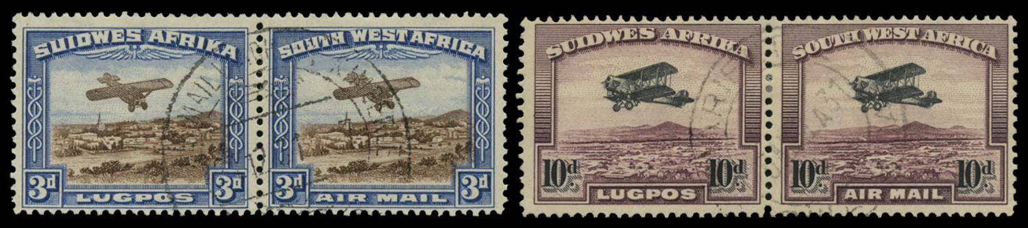 SOUTH WEST AFRICA 1931  SG86/7 Used