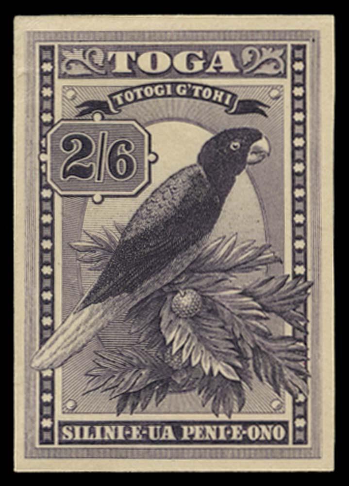 TONGA 1922  SG52 Proof