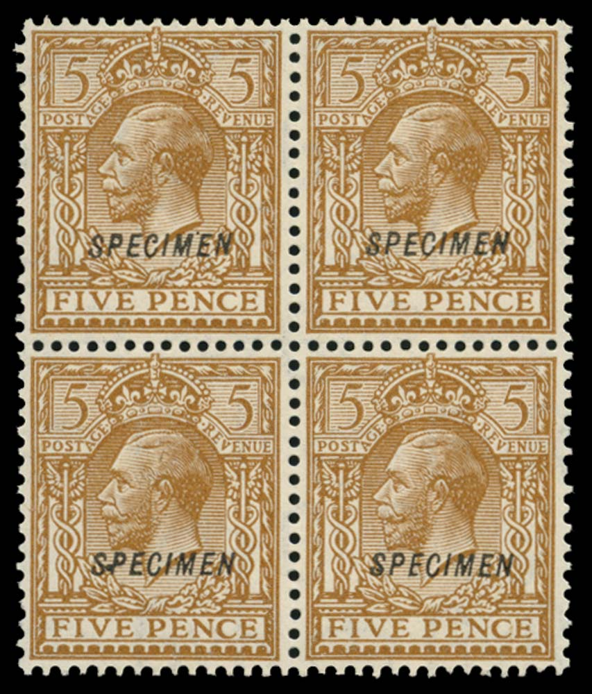 GB 1924  SG425s Specimen Type 23