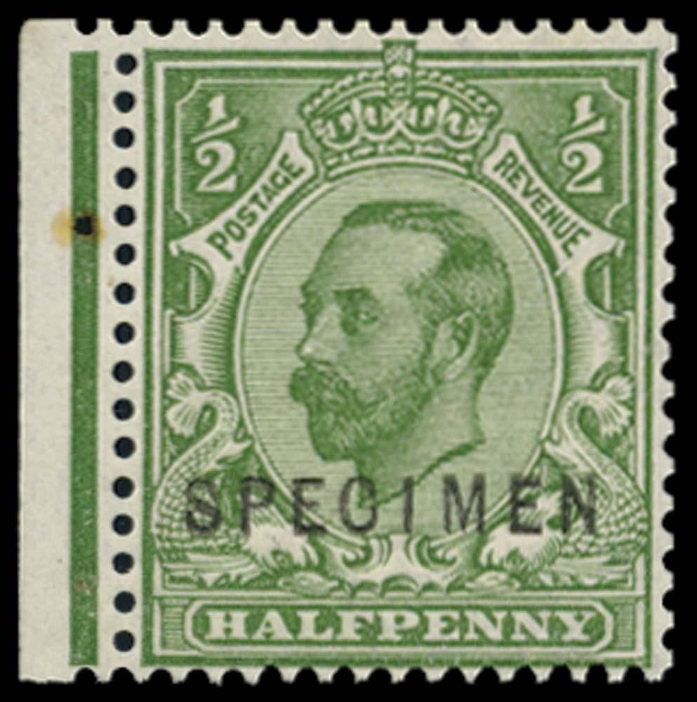 GB 1912  SG335s Specimen Type 22