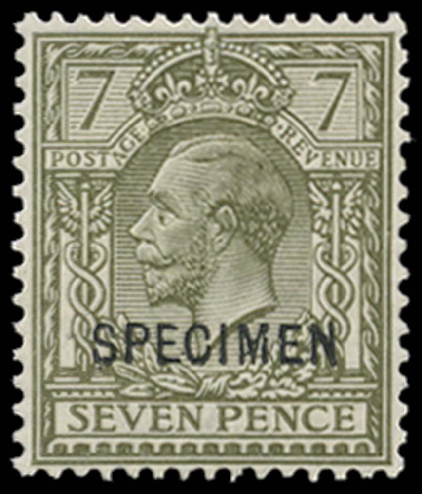 GB 1913  SG387s Specimen Type 26