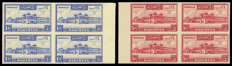 PAKISTAN 1948  SG38,40 Proof