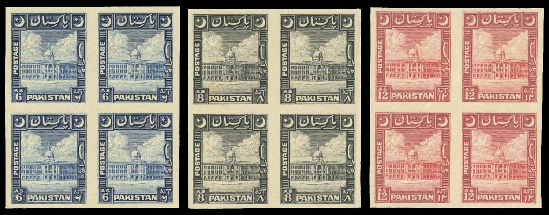 PAKISTAN 1949  SG48/9, 51 Proof