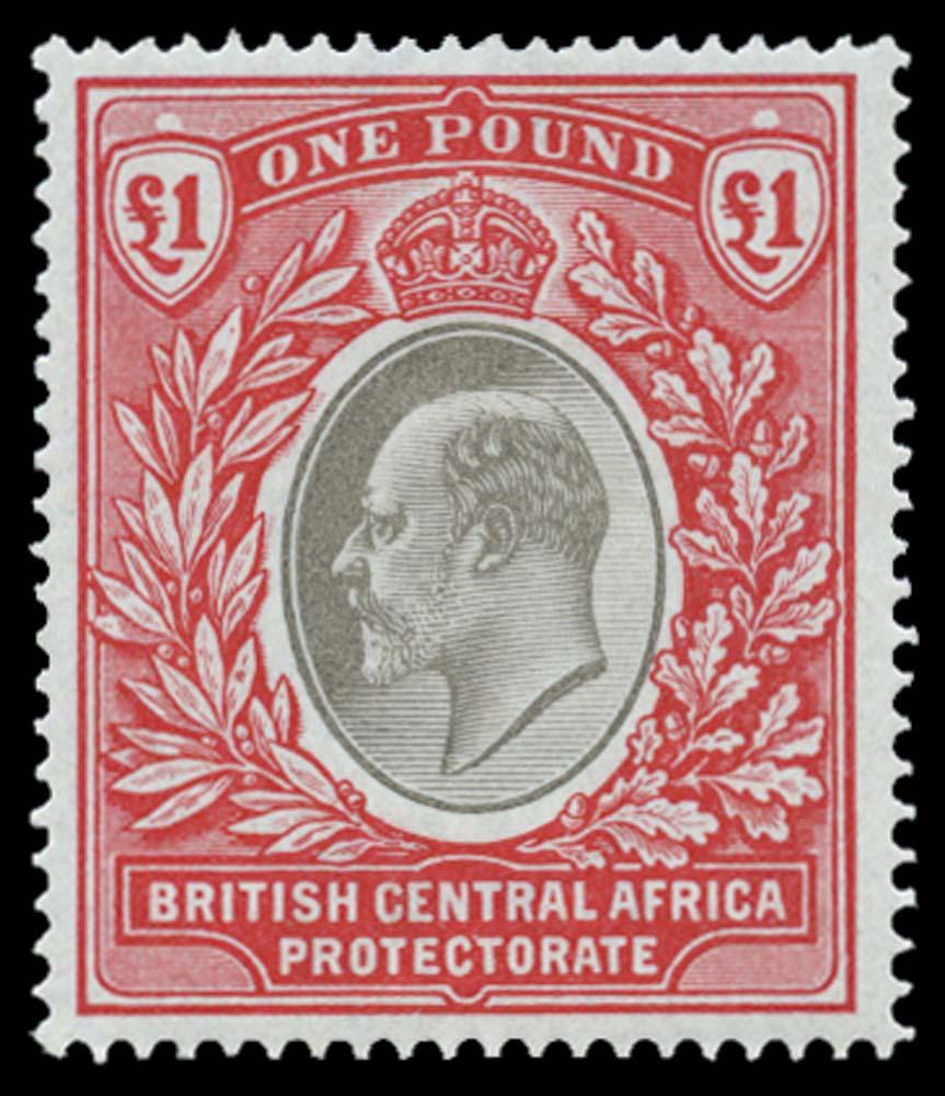 NYASALAND 1903  SG66 Mint