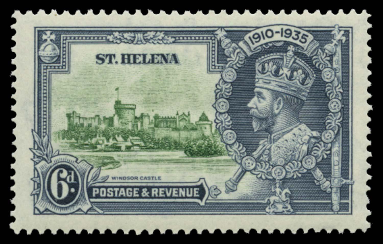 ST HELENA 1935  SG126g Mint