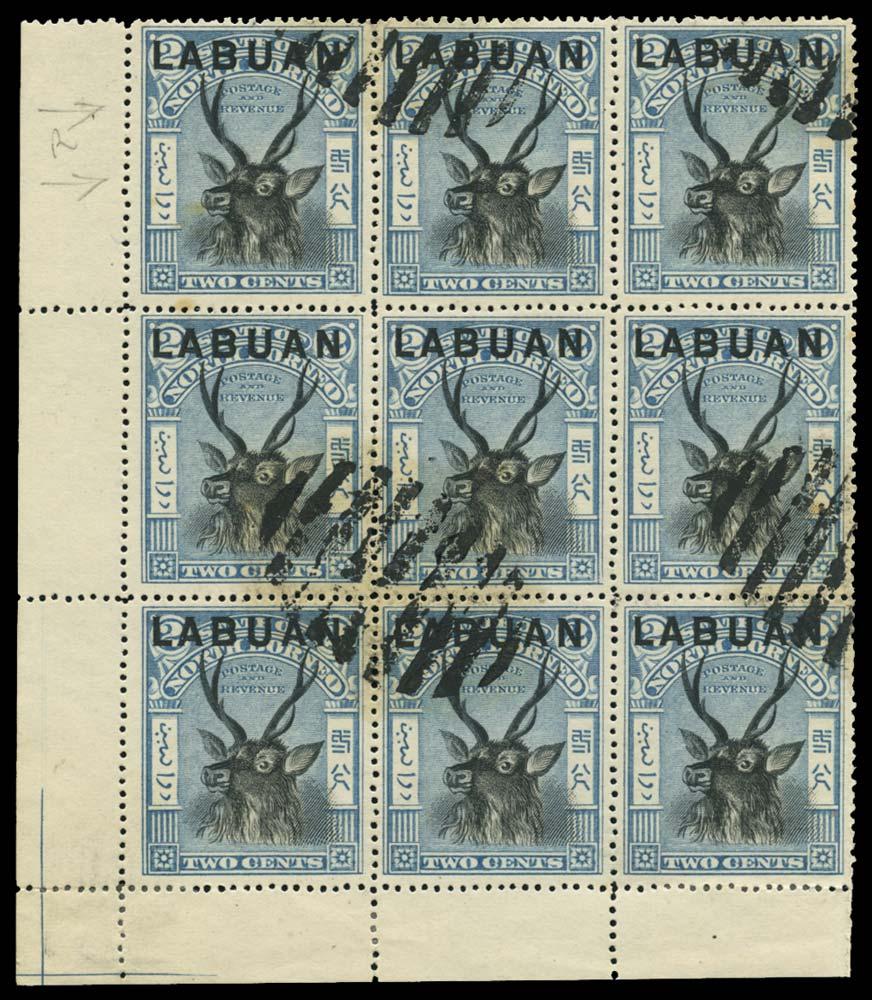 LABUAN 1897  SG90e, var Used