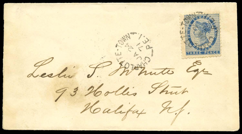 PRINCE EDWARD ISLAND 1871  SG14 Cover