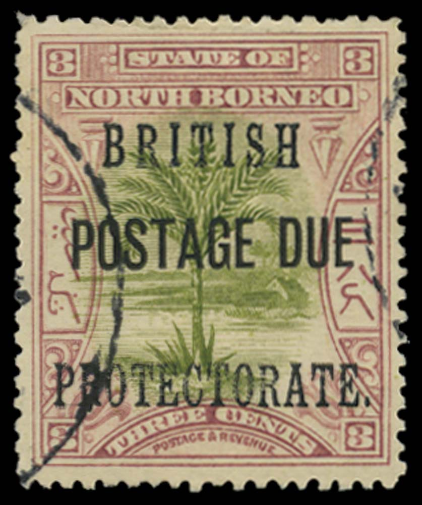 NORTH BORNEO 1902  SGD39a Postage Due
