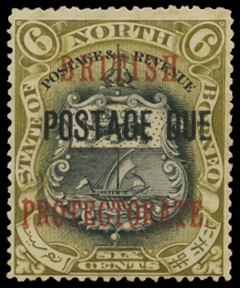 NORTH BORNEO 1902  SGD42d Postage Due