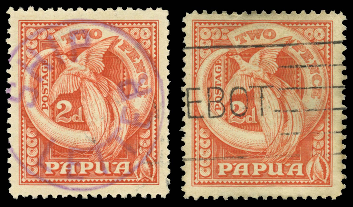 PAPUA 1932  SG133 Cancel