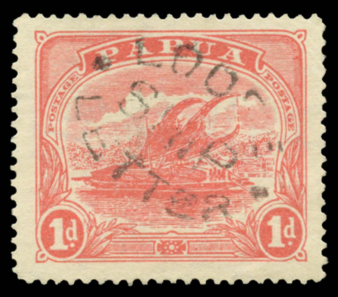 PAPUA 1911  SG85w Cancel